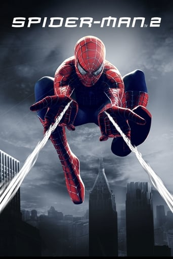 Official movie poster for Spider-Man 2 (2004)