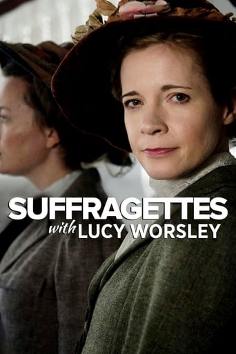 Poster of Suffragettes, with Lucy Worsley