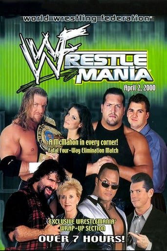 Poster of WWE WrestleMania 2000