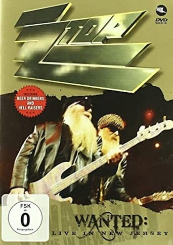 Poster of ZZ Top - Wanted: Live In New Jersey