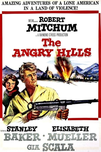 Poster of The Angry Hills