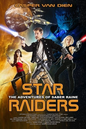 Poster of Star Raiders: The Adventures of Saber Raine fragman