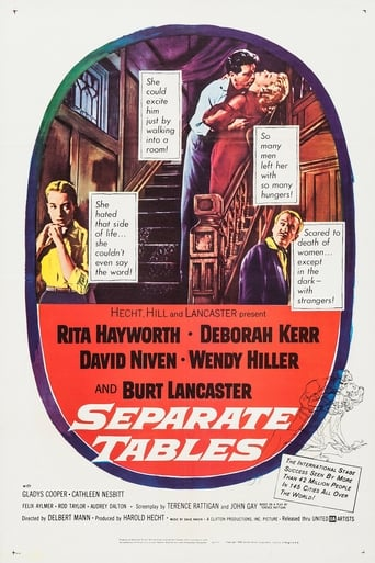Poster of Separate Tables