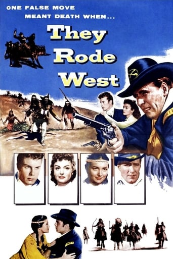 Poster of They Rode West