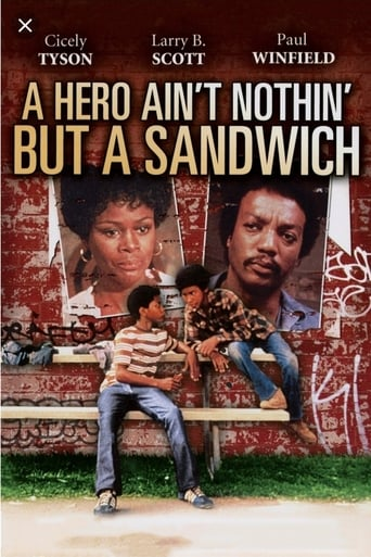Poster of A Hero Ain't Nothin' But a Sandwich