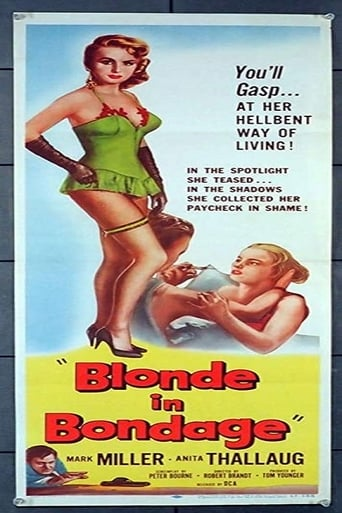 Poster of Blonde in Bondage