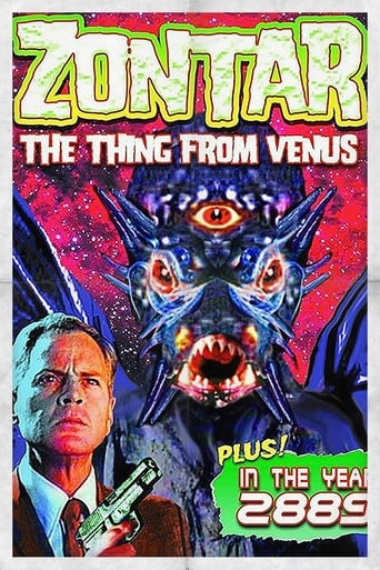 Poster of Zontar: The Thing from Venus