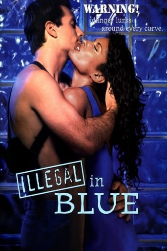 Poster of Illegal in Blue