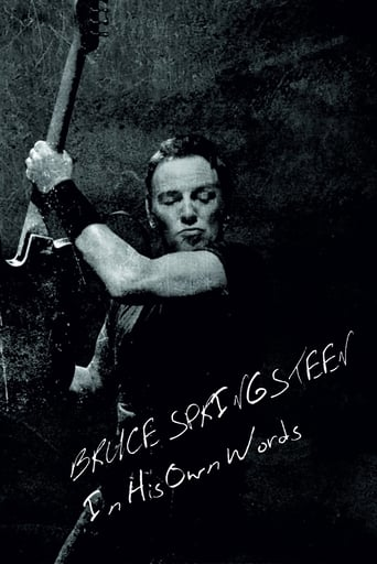 Poster of Bruce Springsteen: In His Own Words