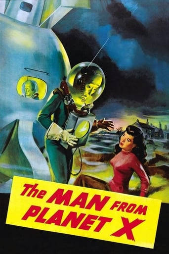 Poster of The Man from Planet X