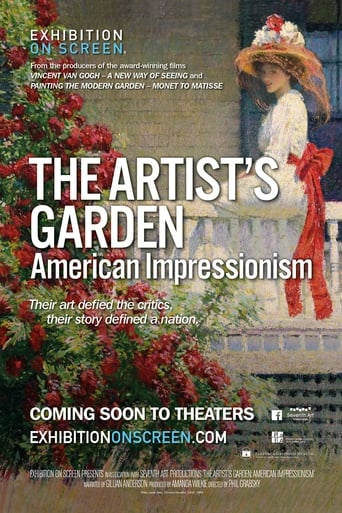 Poster of Exhibition on Screen: The Artist's Garden - American Impressionism