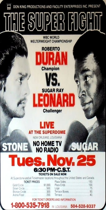 Roberto Duran vs. Sugar Ray Leonard II