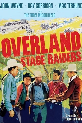 Poster of Overland Stage Raiders