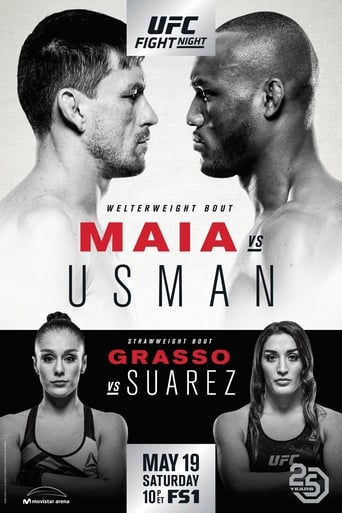 Poster of UFC Fight Night 129: Maia vs. Usman