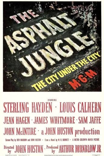 The Asphalt Jungle poster