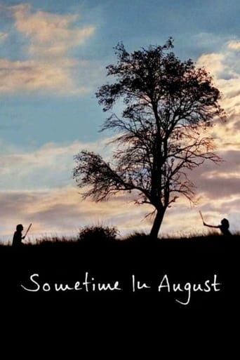 Sometime in August