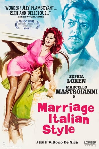 Poster of Marriage Italian Style