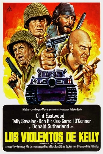 Poster of Los violentos de Kelly