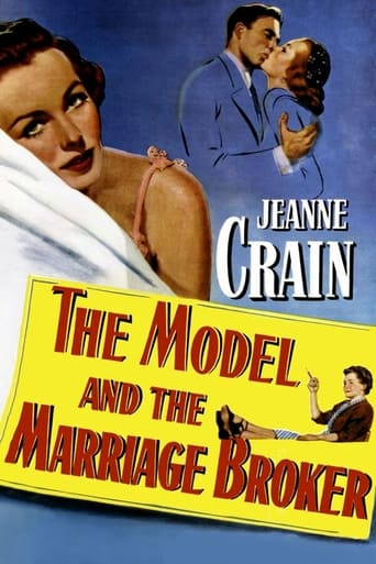 Poster of The Model and the Marriage Broker