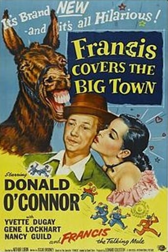 Poster of Francis Covers the Big Town