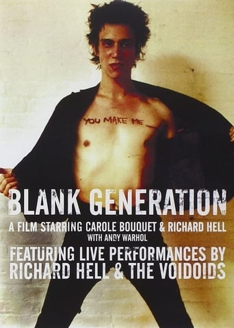 Poster of Blank Generation
