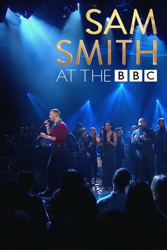 Poster of Sam Smith at the BBC