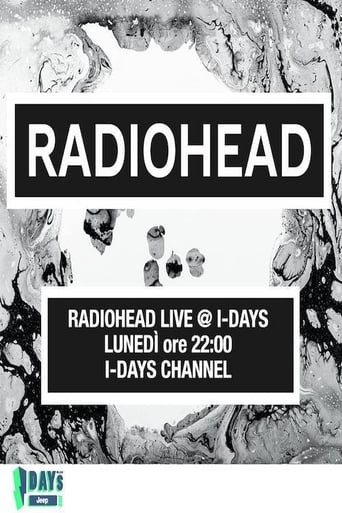 Poster of Radiohead - Live at I-Days 2017