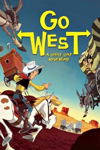 Poster of Go West: A Lucky Luke Adventure