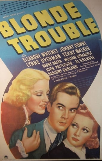 Poster of Blonde Trouble