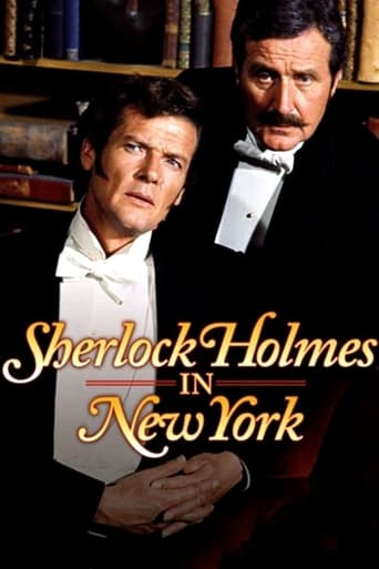 Poster of Sherlock Holmes in New York