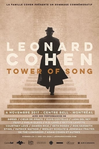 Poster of Tower of Song: A Memorial Tribute to Leonard Cohen