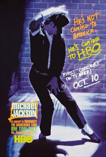 Poster of Michael Jackson Live in Bucharest: The Dangerous Tour