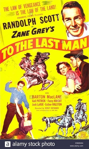 Poster of To the Last Man