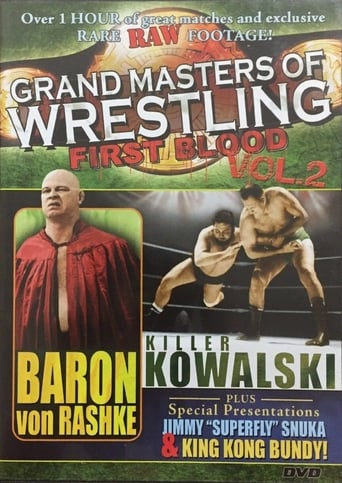 Poster of Grand Masters of Wrestling: First Blood Vol. 2