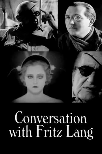 Conversation with Fritz Lang Movie Poster