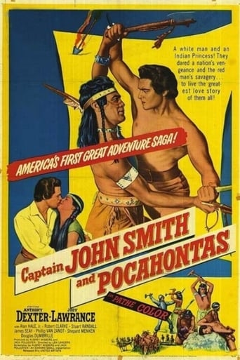 Poster of Captain John Smith and Pocahontas