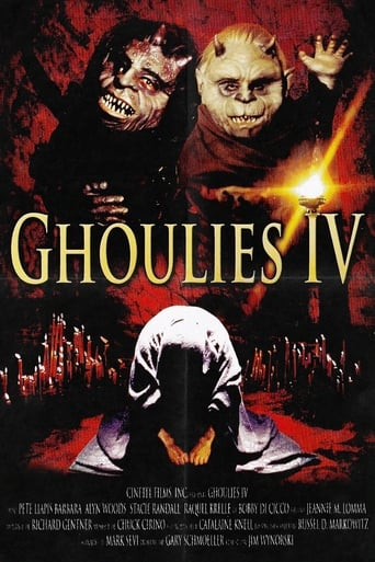 Poster of Ghoulies IV