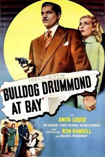 Poster of Bulldog Drummond at Bay