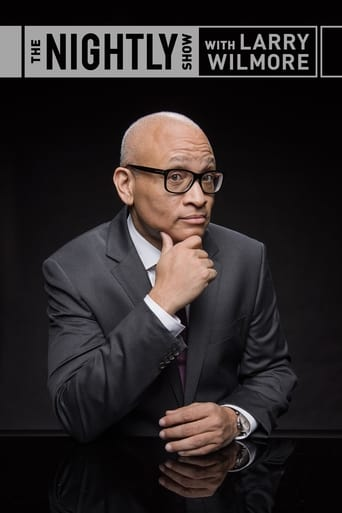 Poster of The Nightly Show with Larry Wilmore