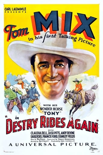Poster of Destry Rides Again
