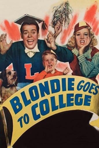 Blondie Goes to College Movie Poster