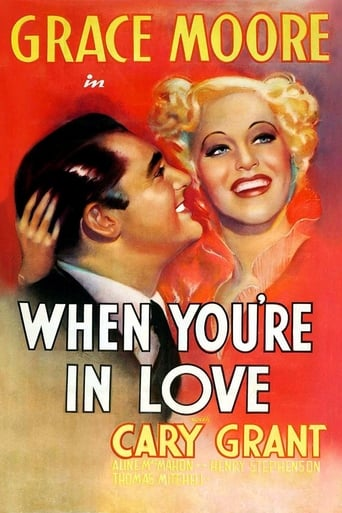 Poster of When You're in Love