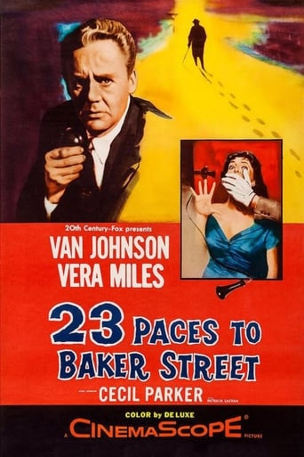 Poster of 23 Paces to Baker Street