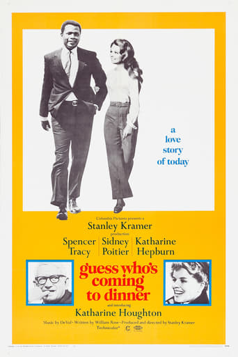 Official movie poster for Guess Who's Coming to Dinner (1967)