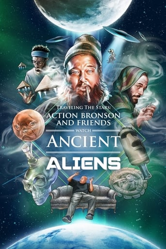 Poster of Traveling the Stars: Ancient Aliens with Action Bronson and Friends - 420 Special