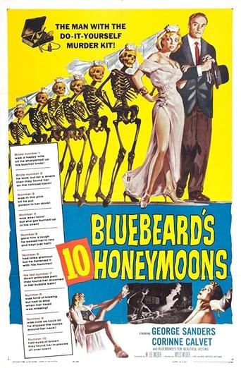 Poster of Bluebeard's 10 Honeymoons