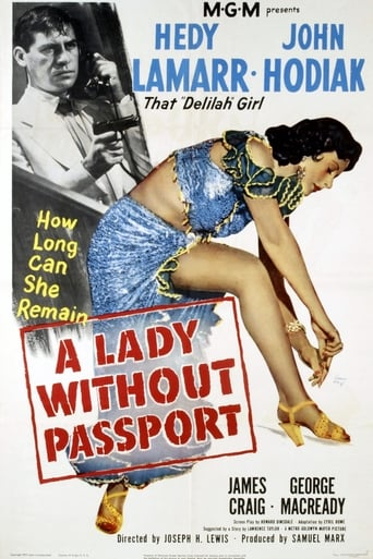 Poster of A Lady Without Passport