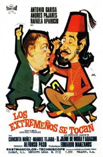 Poster of Los extremeños se tocan