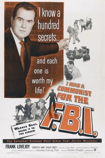 I Was a Communist for the FBI poster