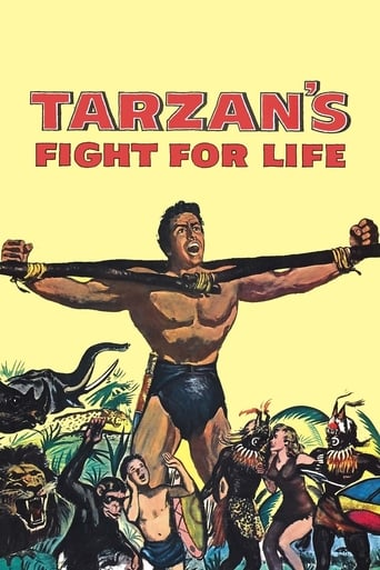 Poster of Tarzan's Fight for Life